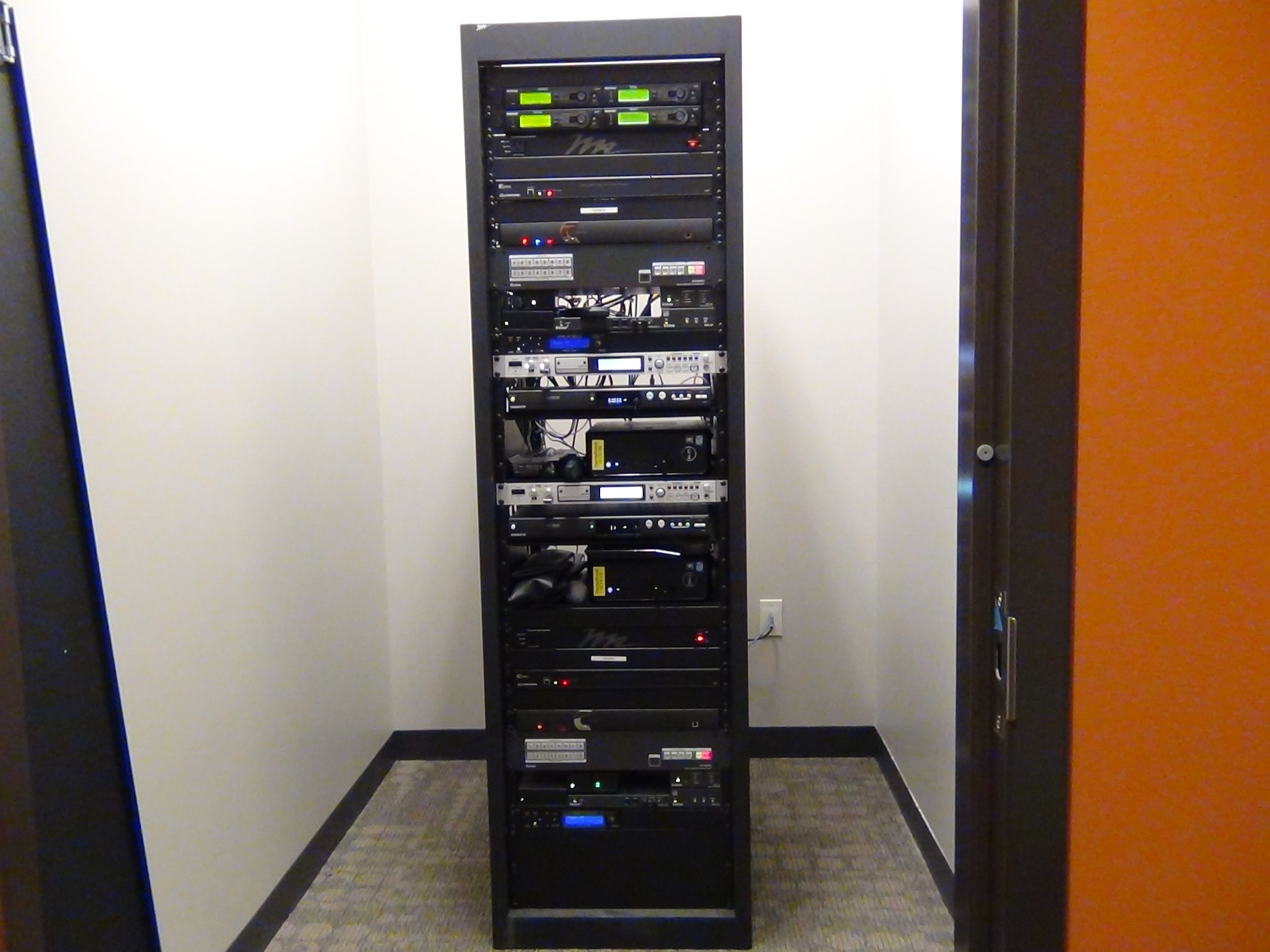 data rack for AV systems, CMA