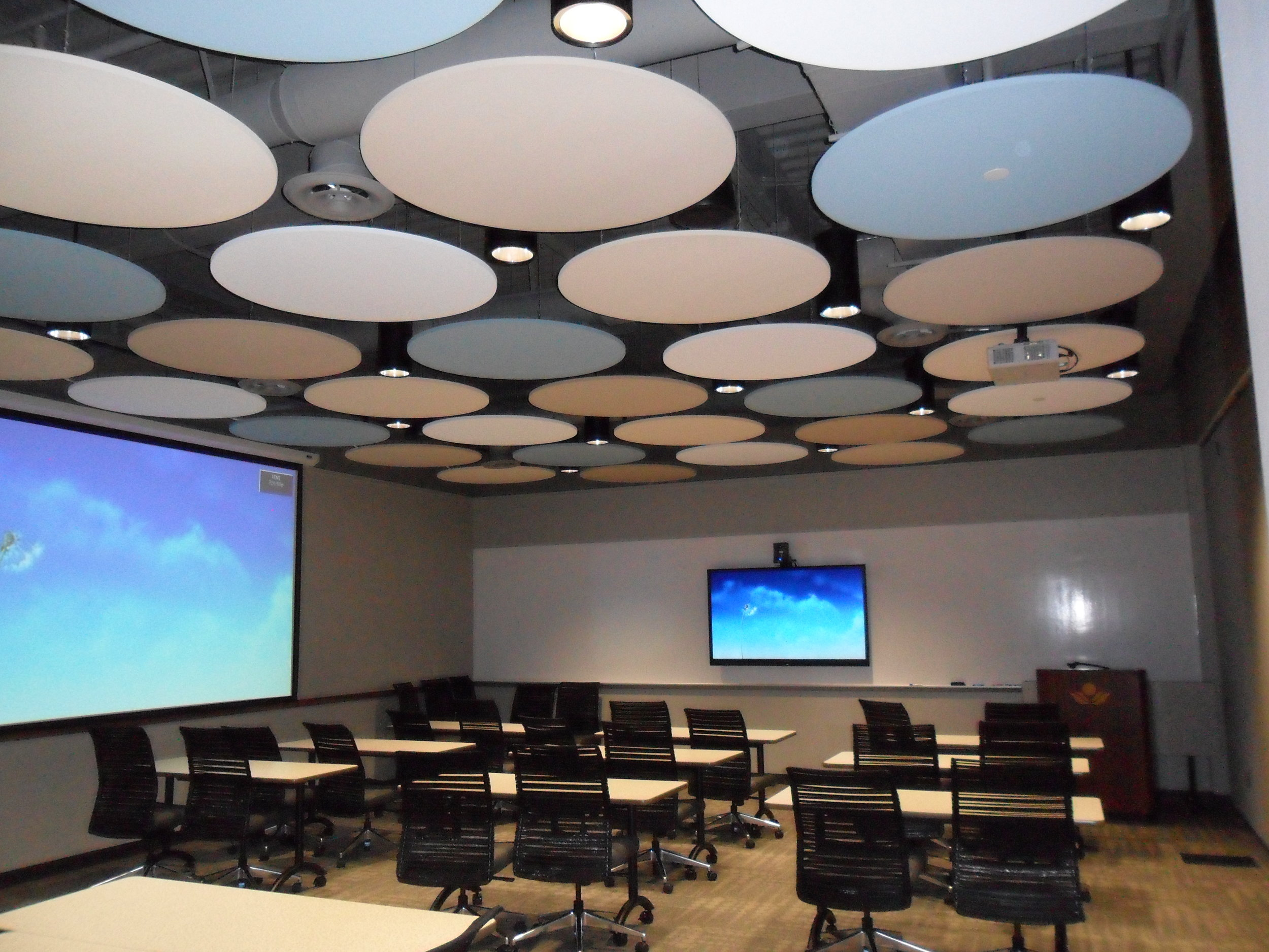 Flexible training room space at    Columbus Medical Association and Affiliates