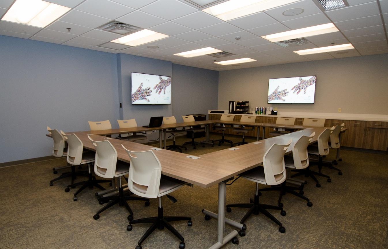 Flexible training/meeting space