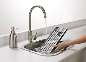 10. Logitech washable keyboard
