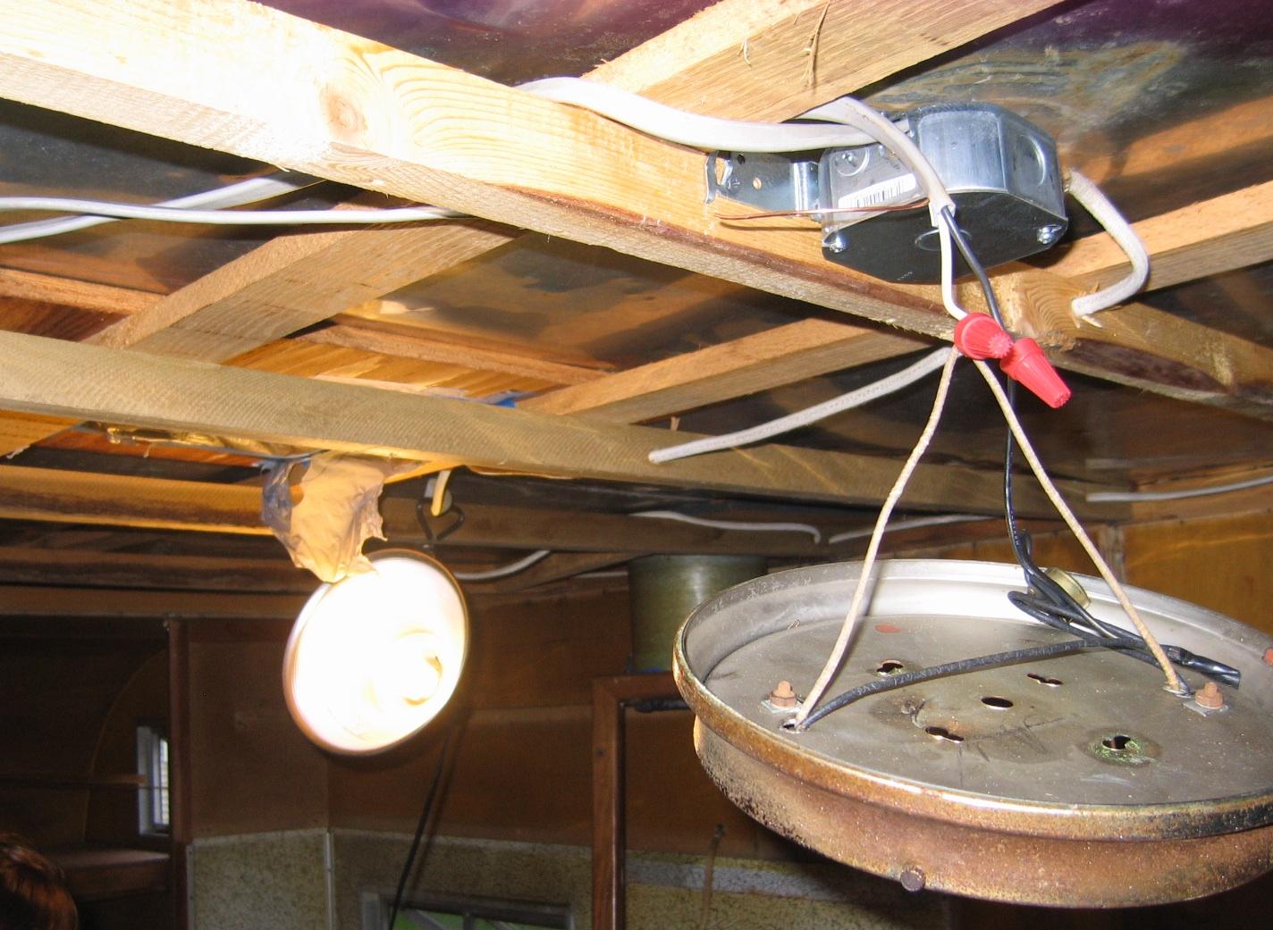 Interior electrical work