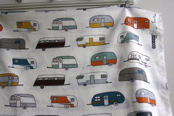 camper fabric