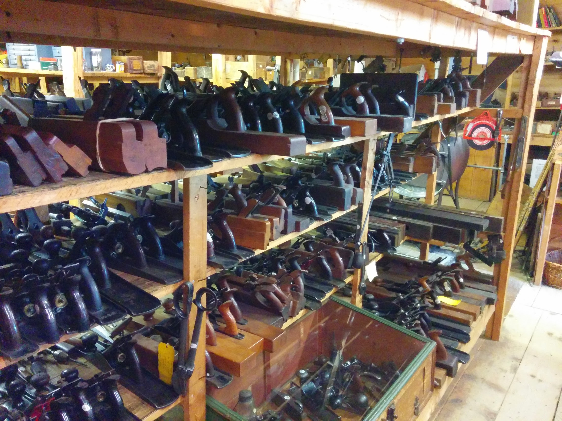 The Tool Barn in Maine. Makes you want to build a house using only hand tools, right?