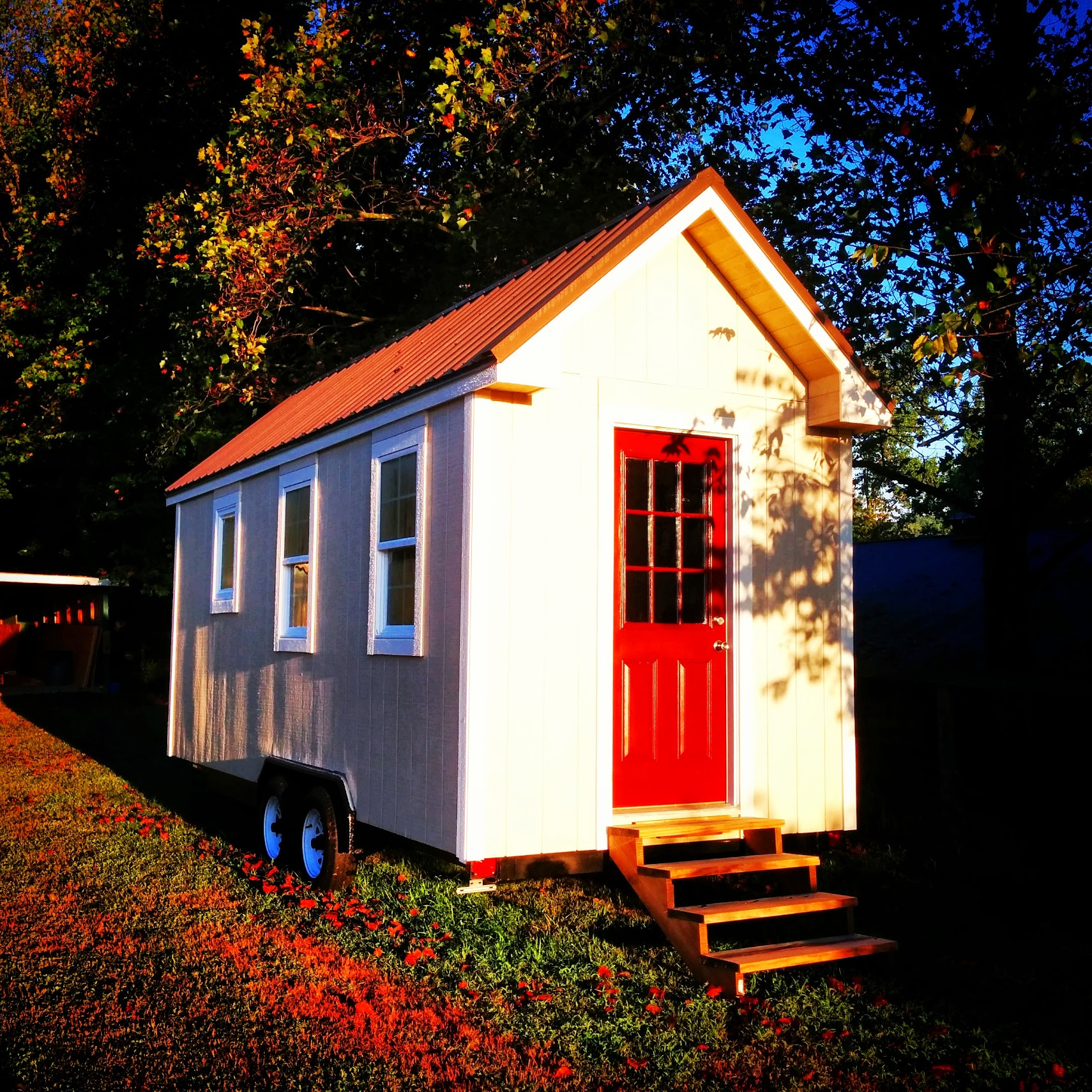 One of the new  Tiny Home Builders  models, a tiny home that can be built for less than $10K, plans coming soon!