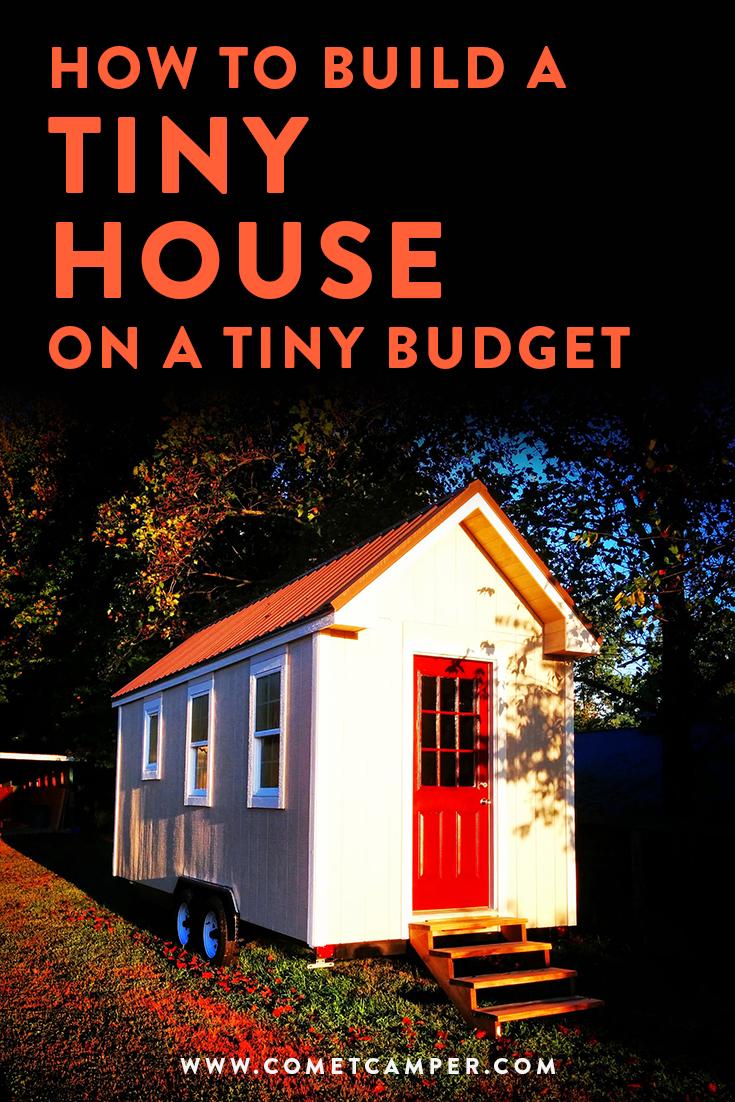 tiny house on a tiny budget