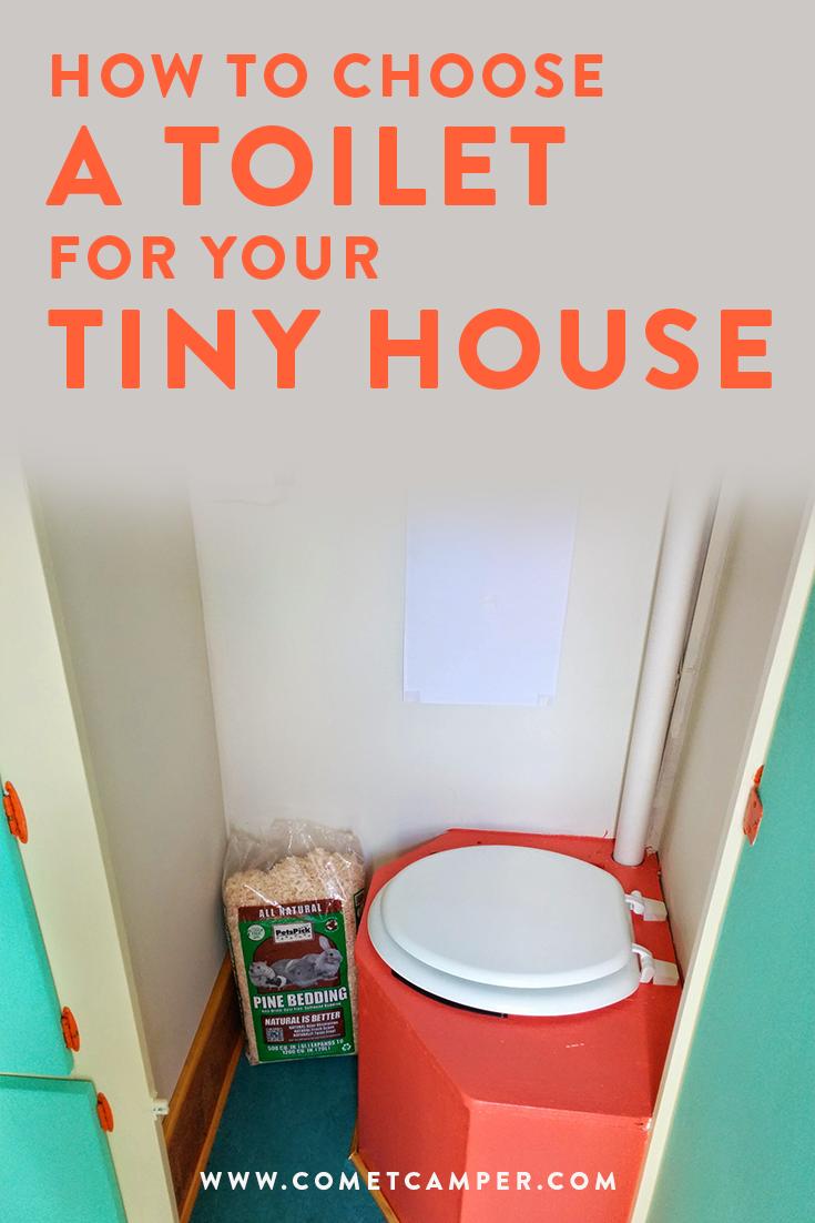 tiny house trailer toilet