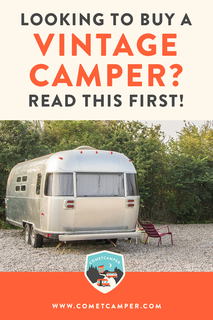 Are you looking to buy a vintage camper and just don't know where to start? Get the best advice on buying your first vintage camper here!