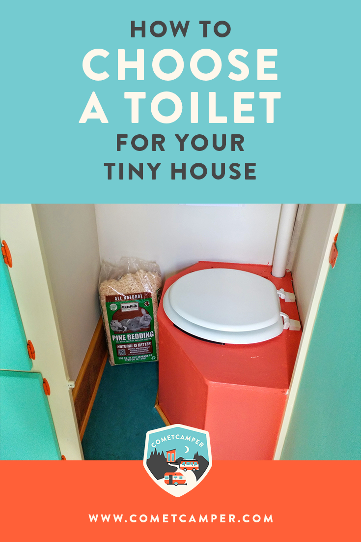 Your tiny home has choice spaces that need to function perfectly! Here's our guide on choosing a toilet for your tiny home. There are so any options, you'll love this guide!