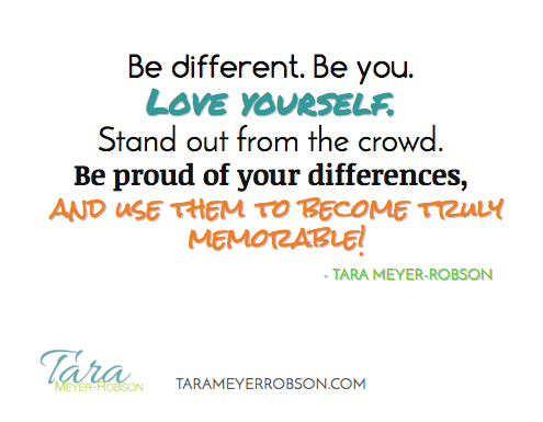 Be Different. Be You.