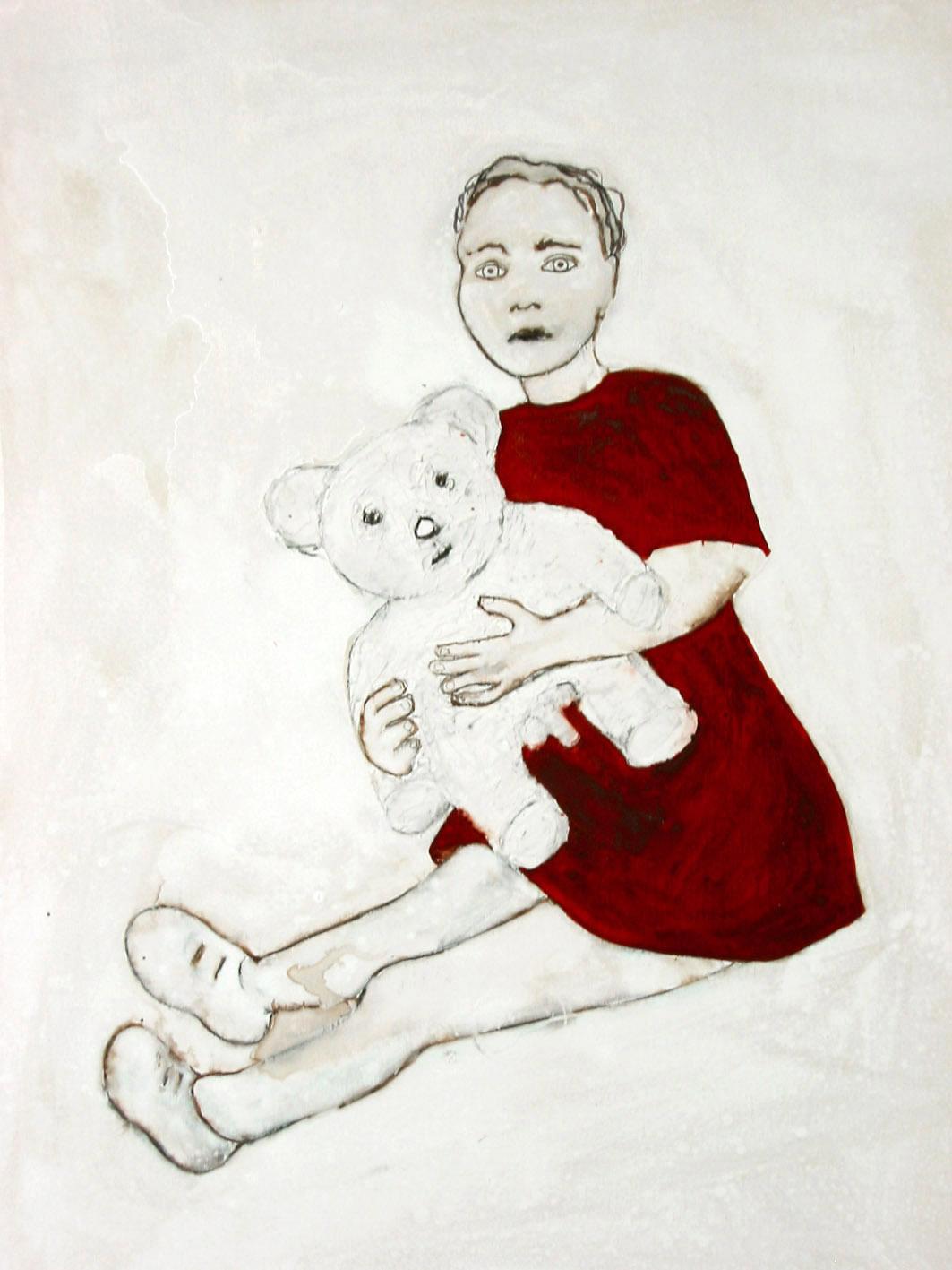 Niña y Oso / Girl with bear,