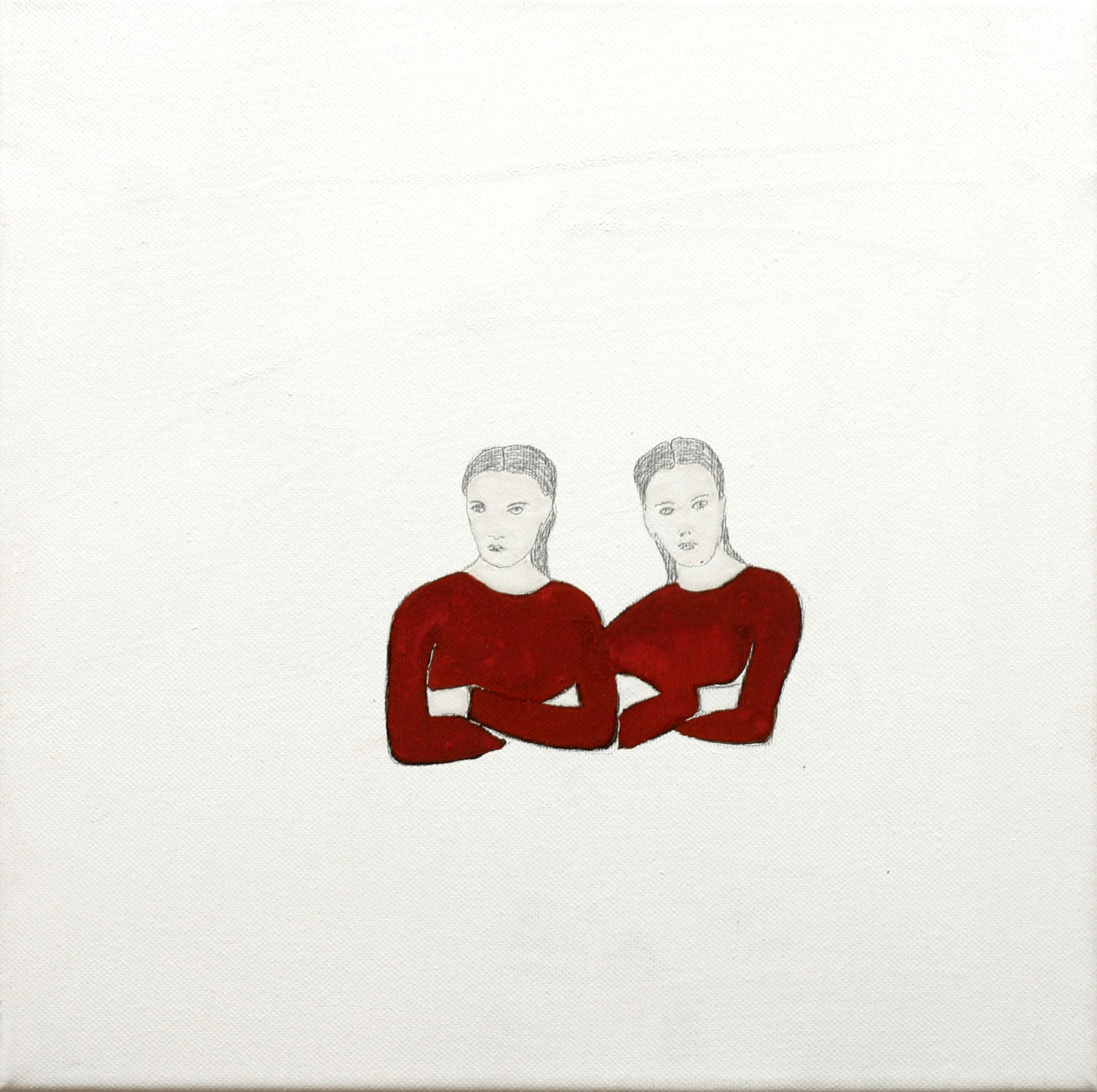 Dos bustos-Retratos / Two busts-Portraits