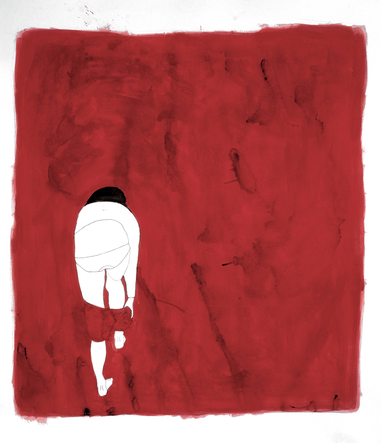 Mujer desvistiendose / Woman undressing II
