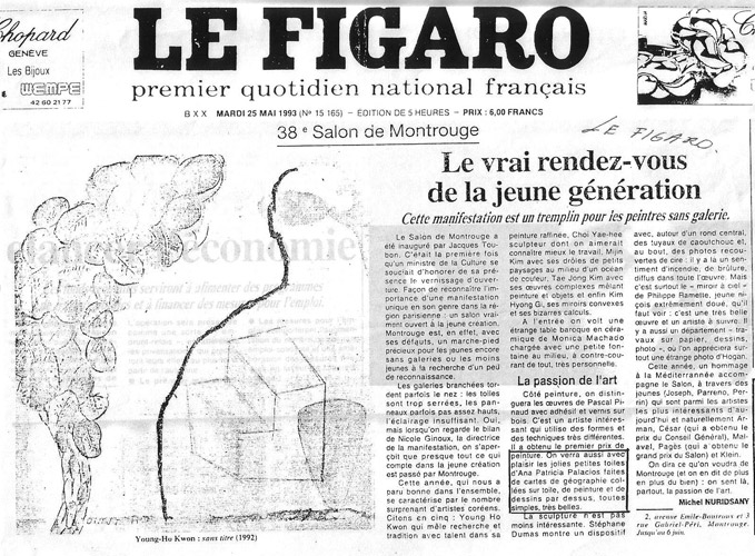 Le Figaro , Michel Nuridsany