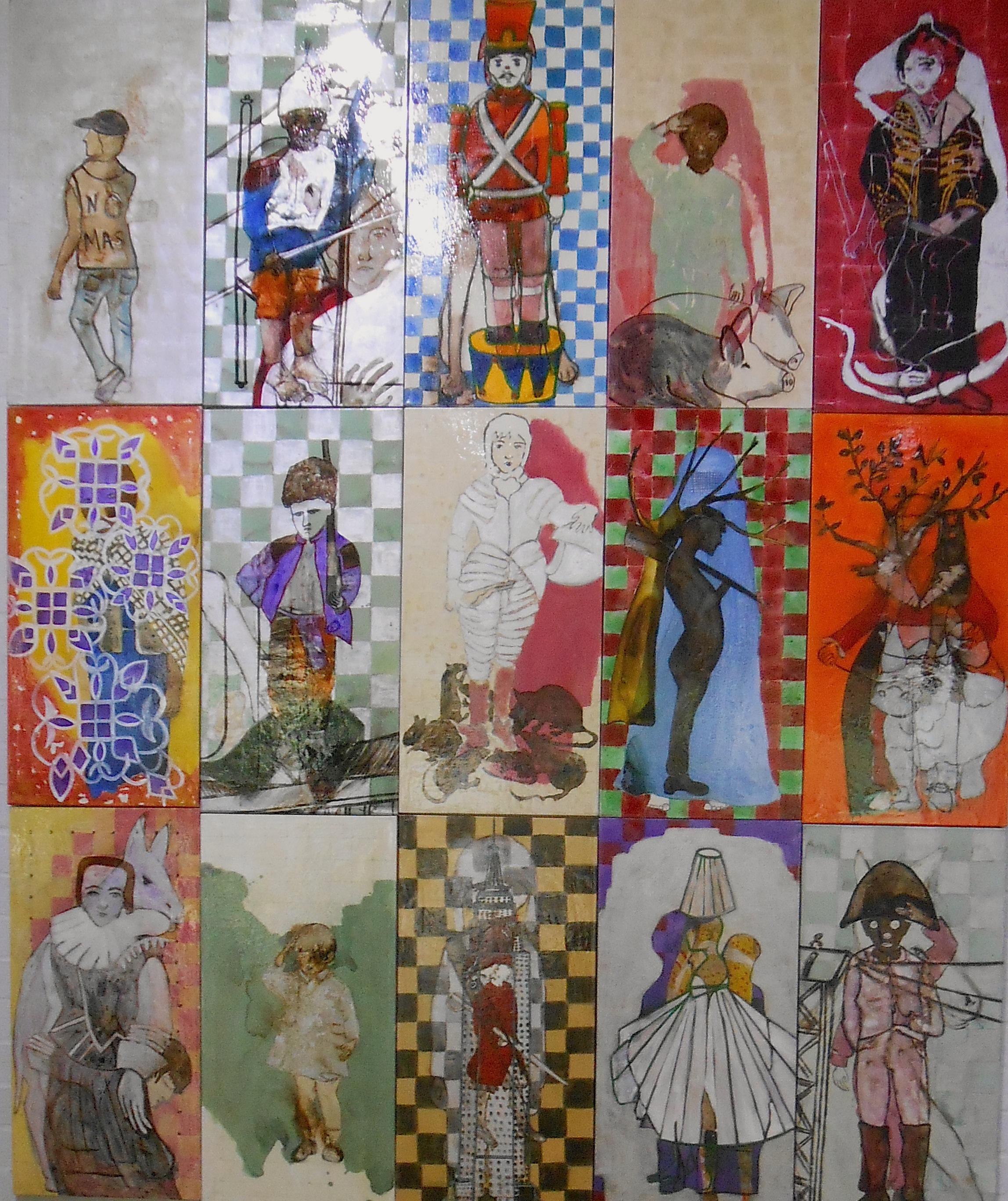 Mosaico Combatientes / Mosaic Combatants