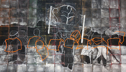 No-lugar ( trashumantes 1) / No-place (Trashumant 1)