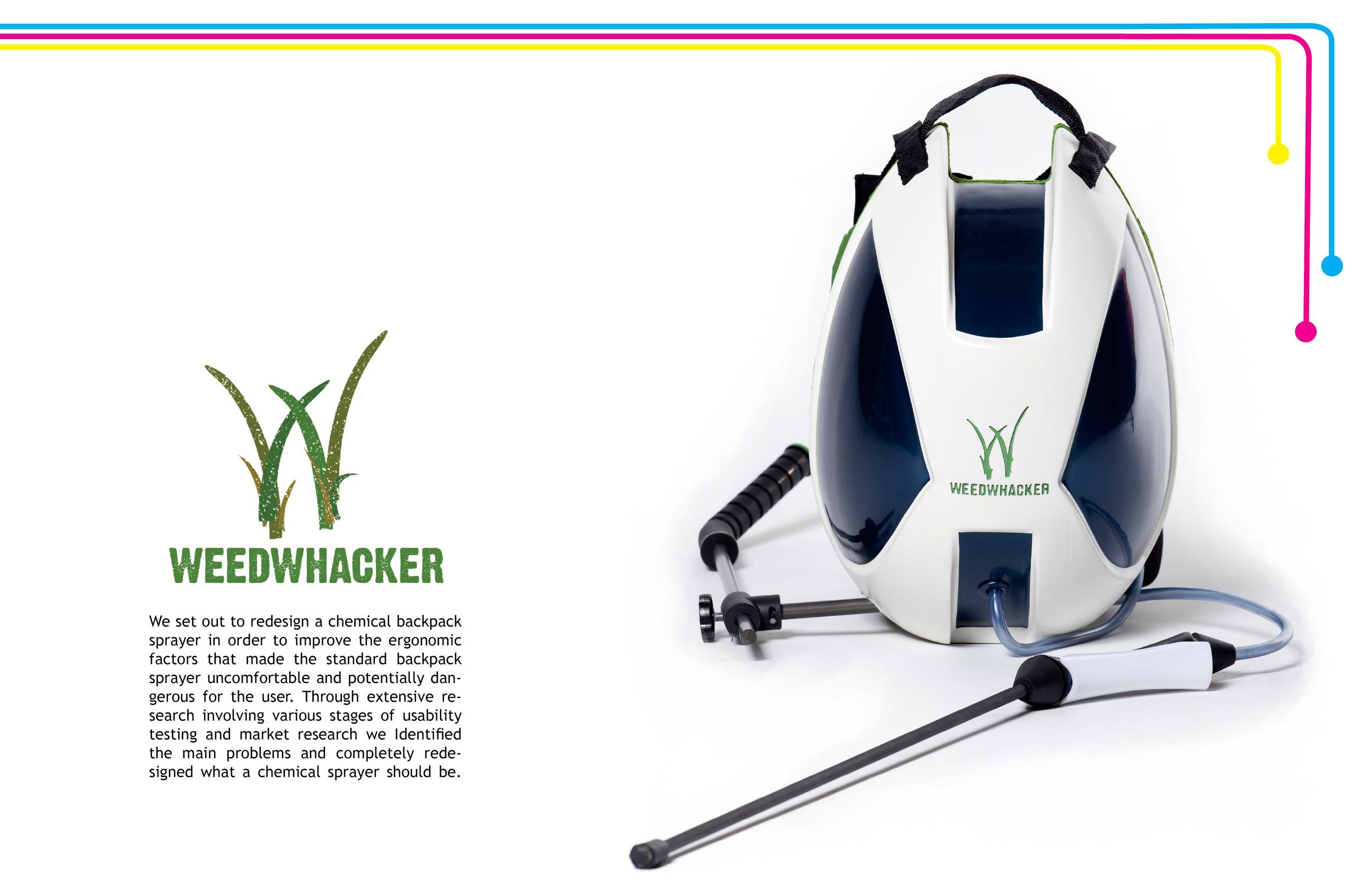 Weedwhaker Chemical Sprayer by Sebastian Campos Moller