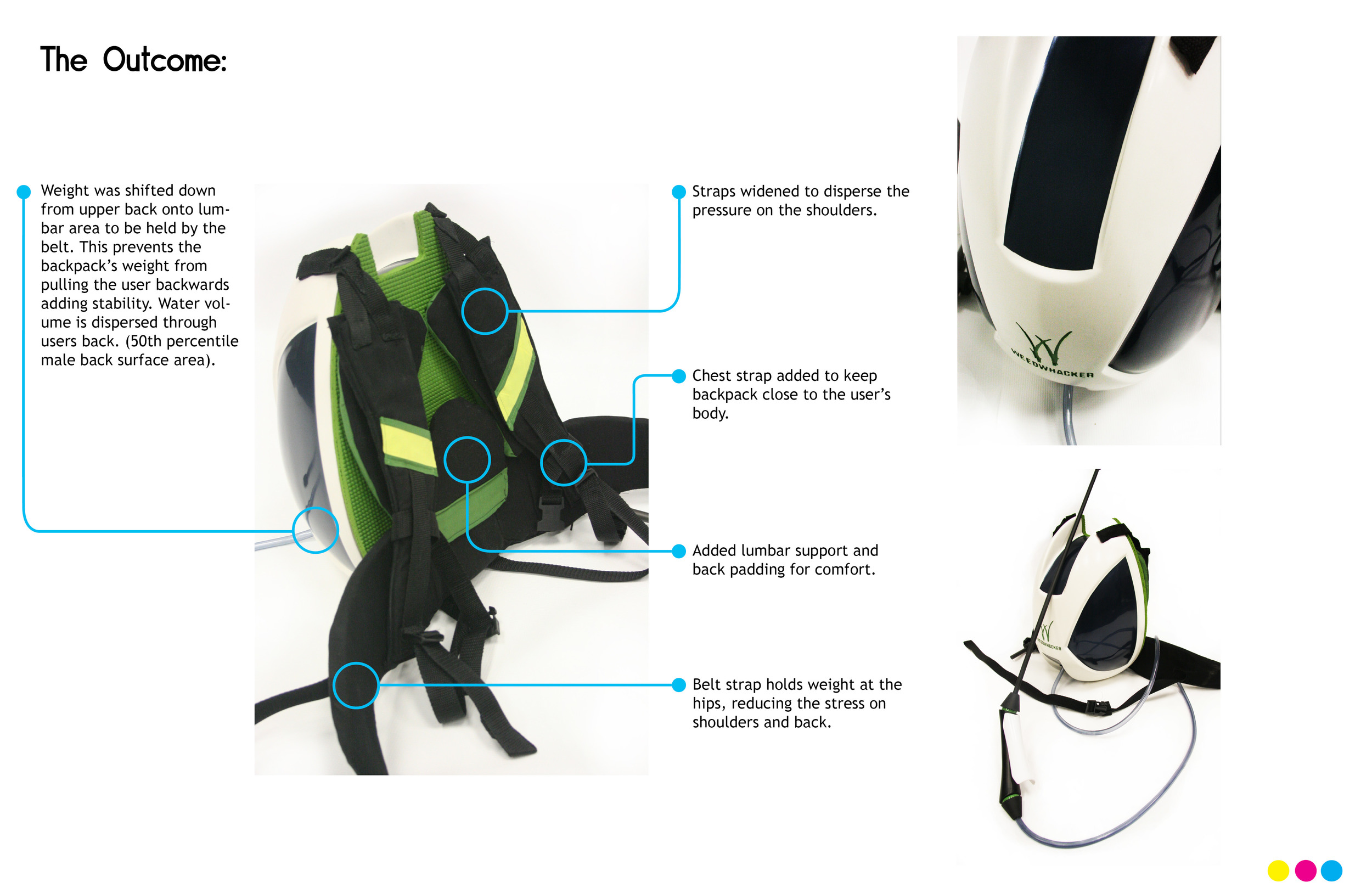Weedwhaker Chemical sprayer redesign by Sebastian Campos Moller