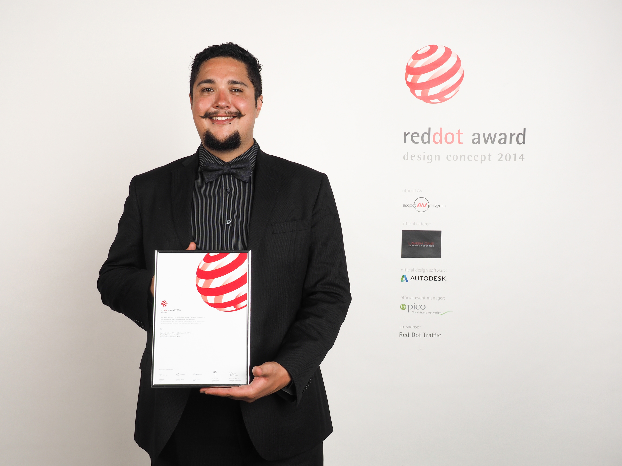 Red Dot award winner 2014 design concept
