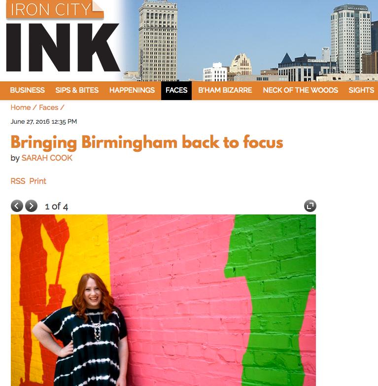 IRON CITY INK - Bringing Birmingham back to focus
