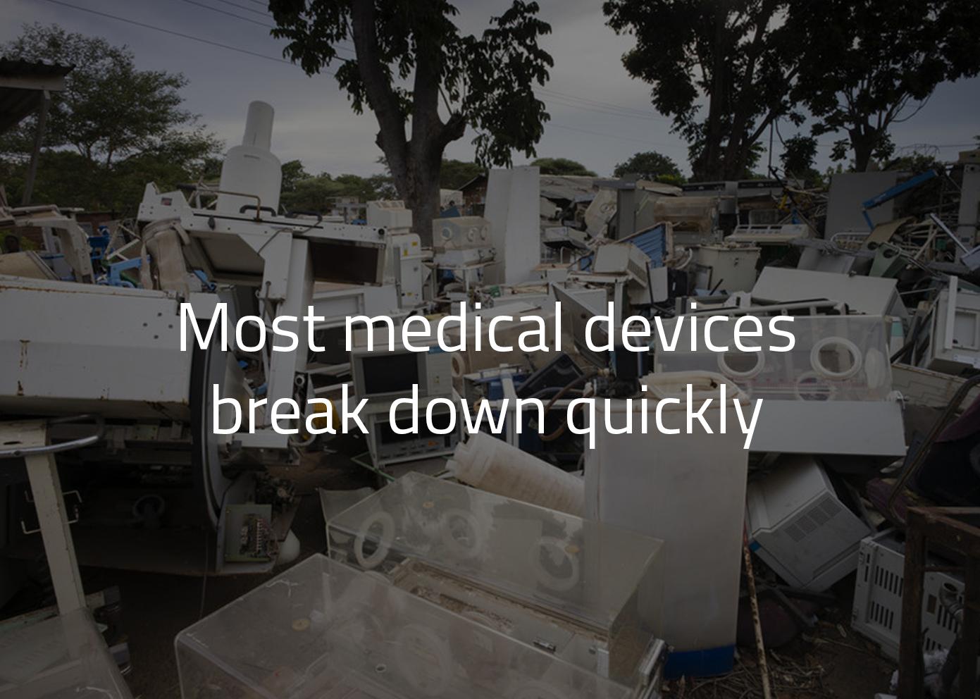 NPR article about broken equiptment