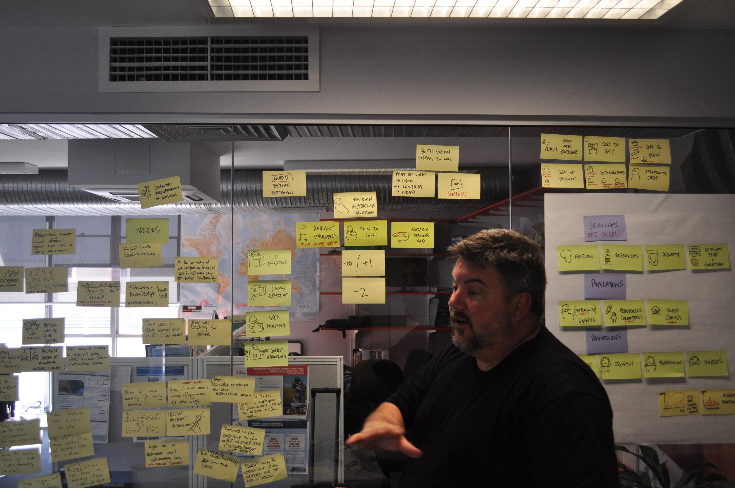 Medical Device Brainstormer at MSF Sydney