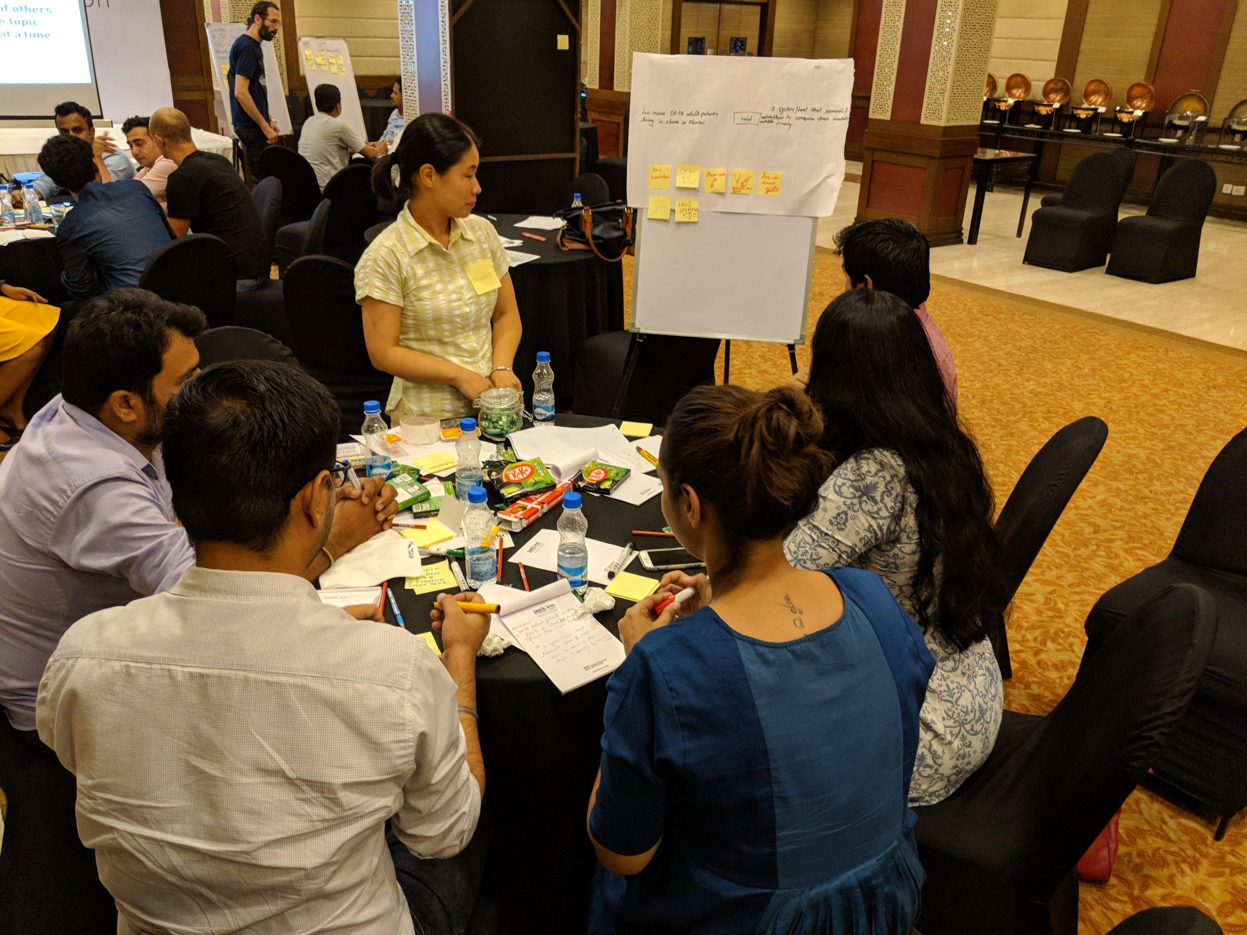 Innovation Workshop at MSF New Delhi