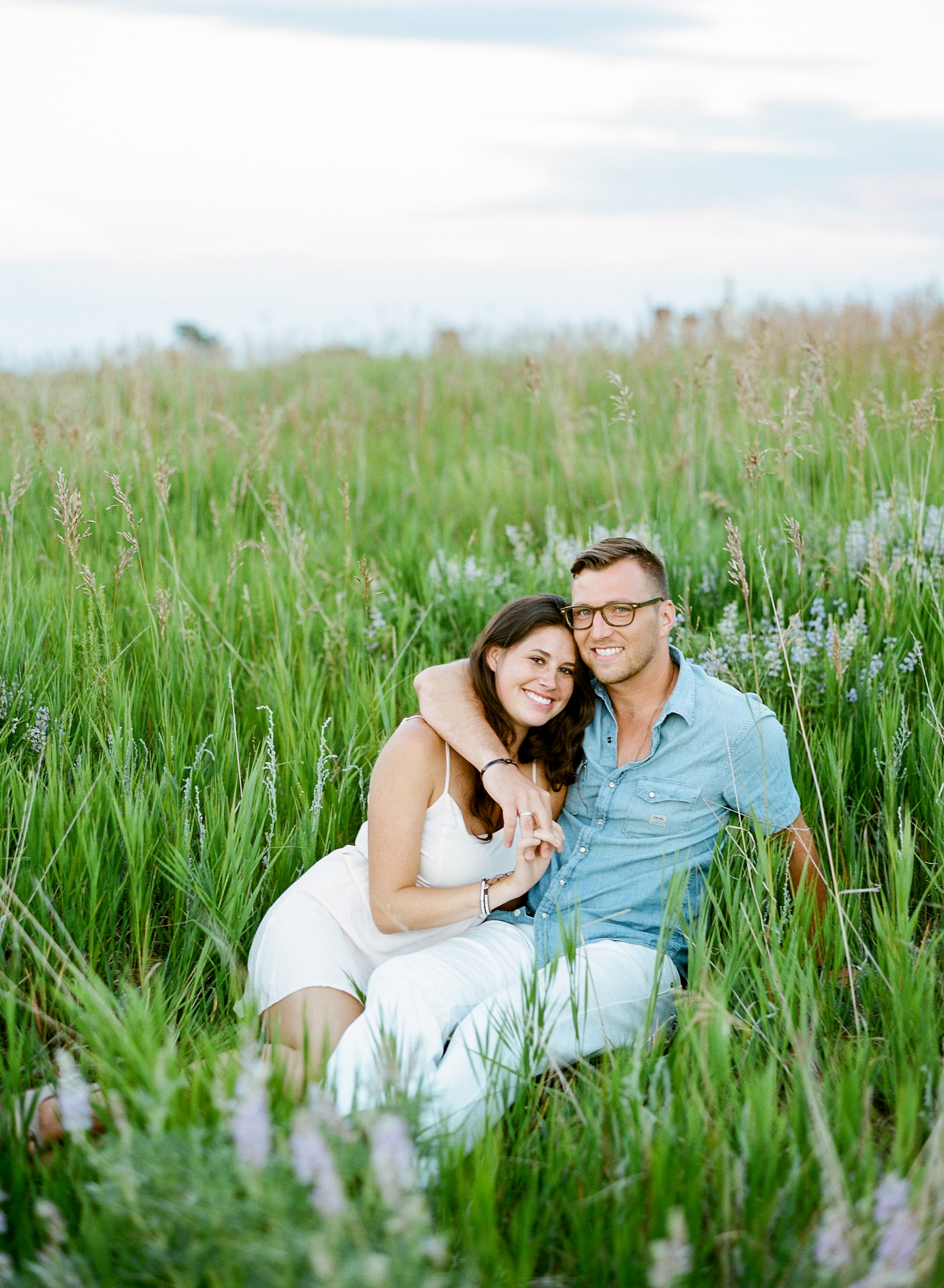 lauren jonas denver colorado film photographer engagement session