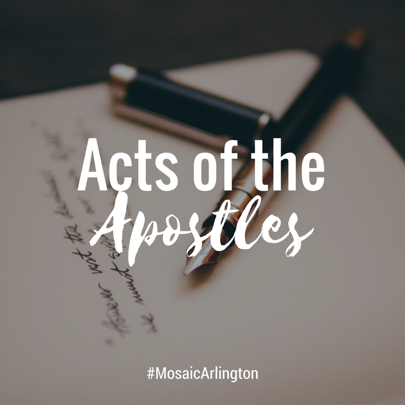 Acts of the Apostles || Jan-Aug 2012