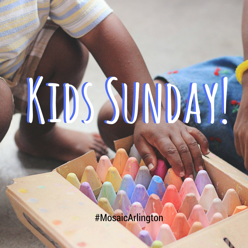 Kids Sunday || August 2012