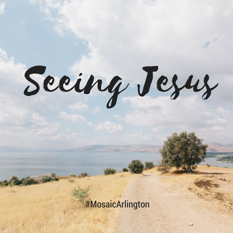 Seeing Jesus || April - May 2013