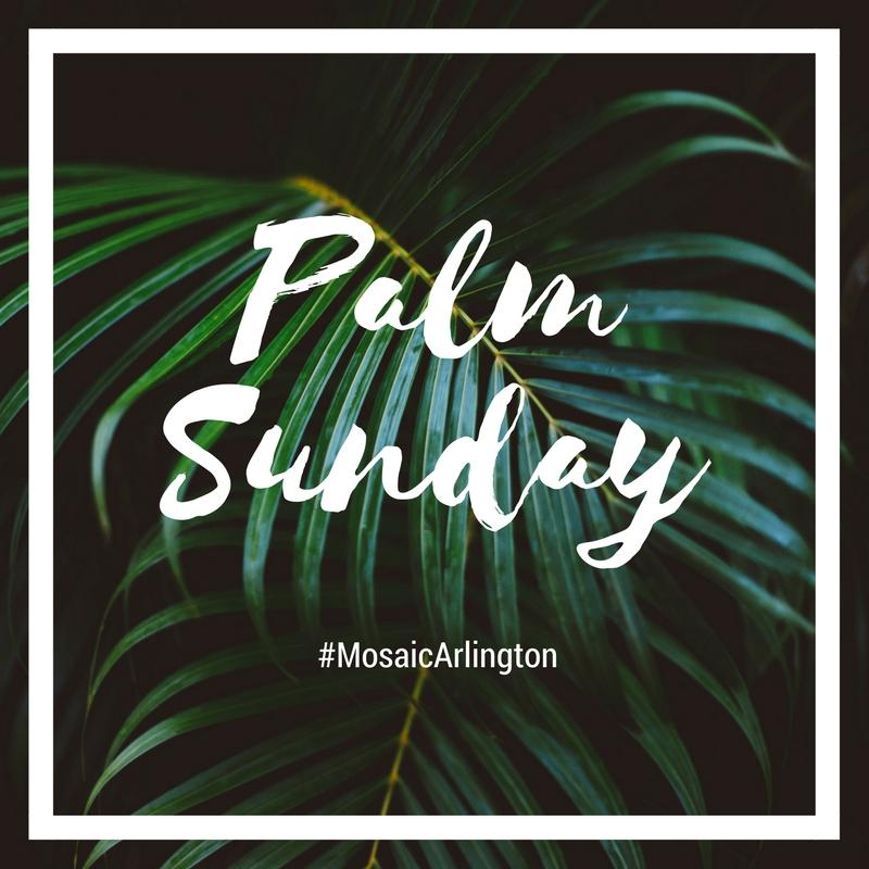 Palm Sunday. || April 2017