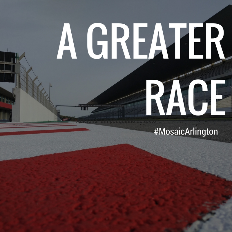 A Greater Race || August 2016