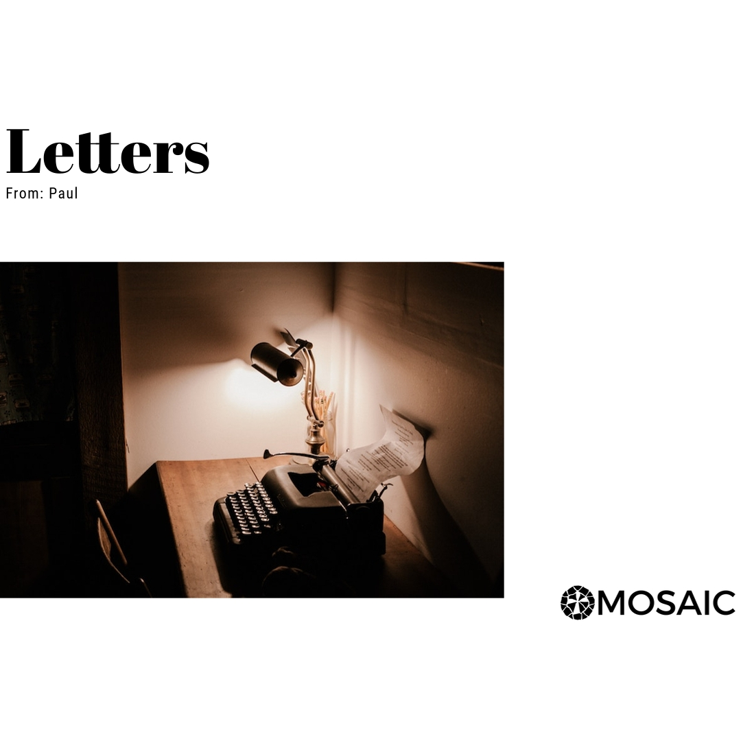 Letters || Fall 2018