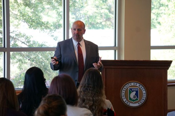 Dr. Hough presents to Mexican officials for U.S. State Department