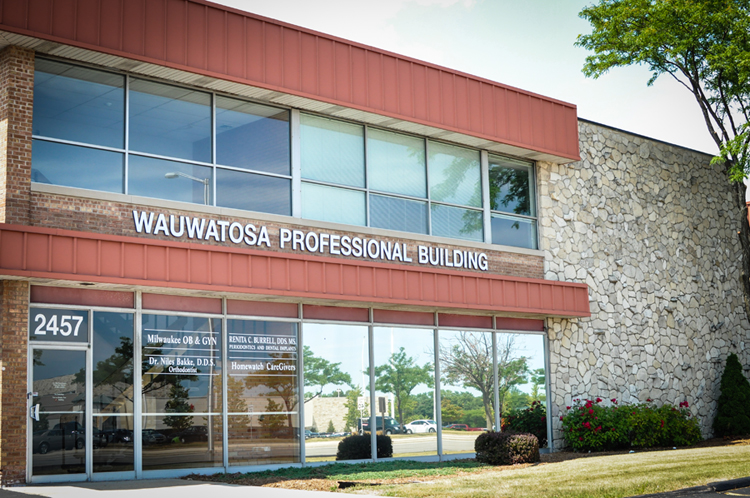 Located in the Wauwatosa Professional Building