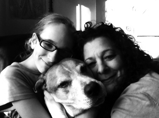 cooperthedog, mirra and me