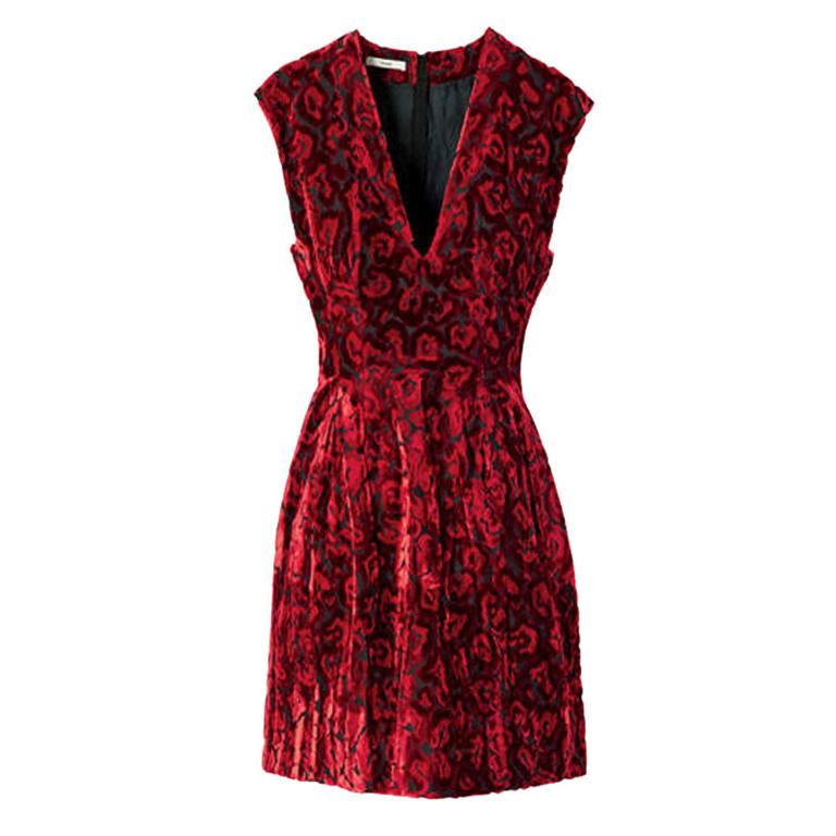 Prada Velvet Skater Dress