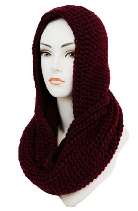 Scarf Hood available in other colors, $28.