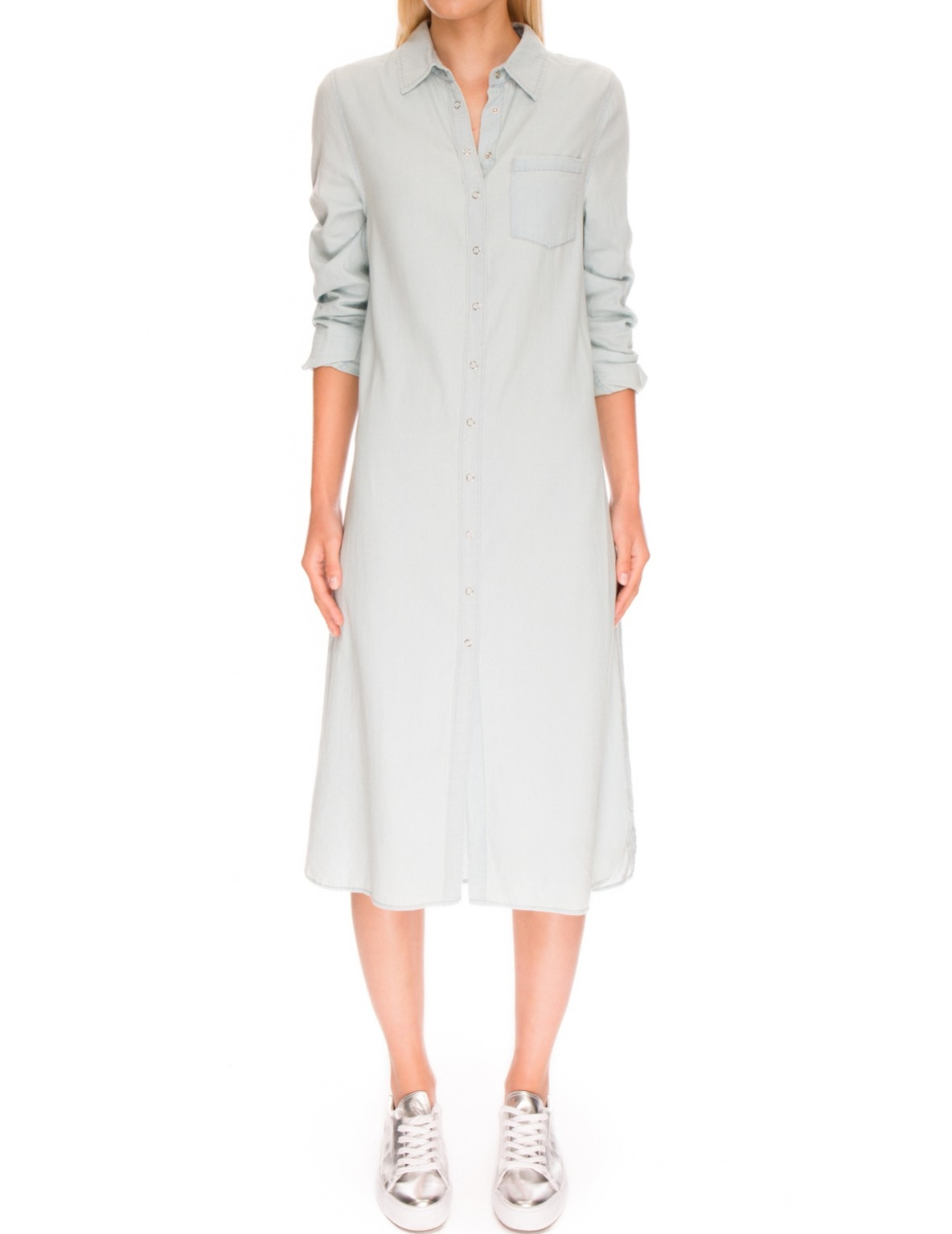 Fifth Label Shirt Dress. Perfect layer for all seasons!