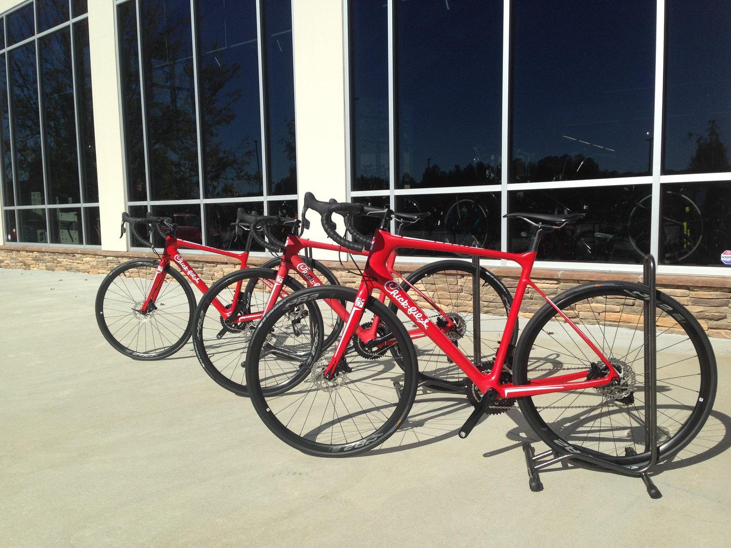 Chick-fil-a Bicycles