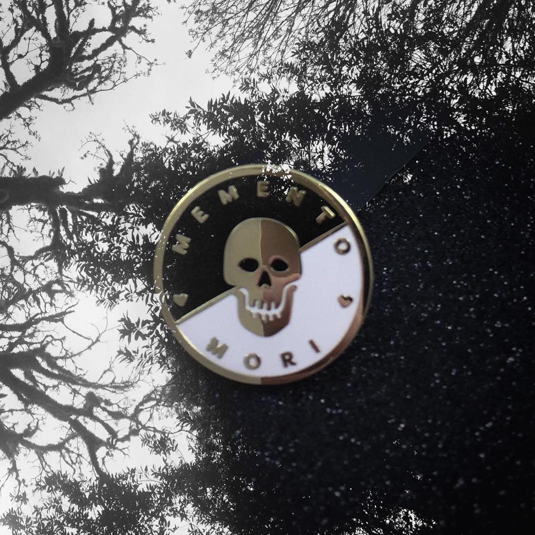 Memento Mori Pin by The BCD