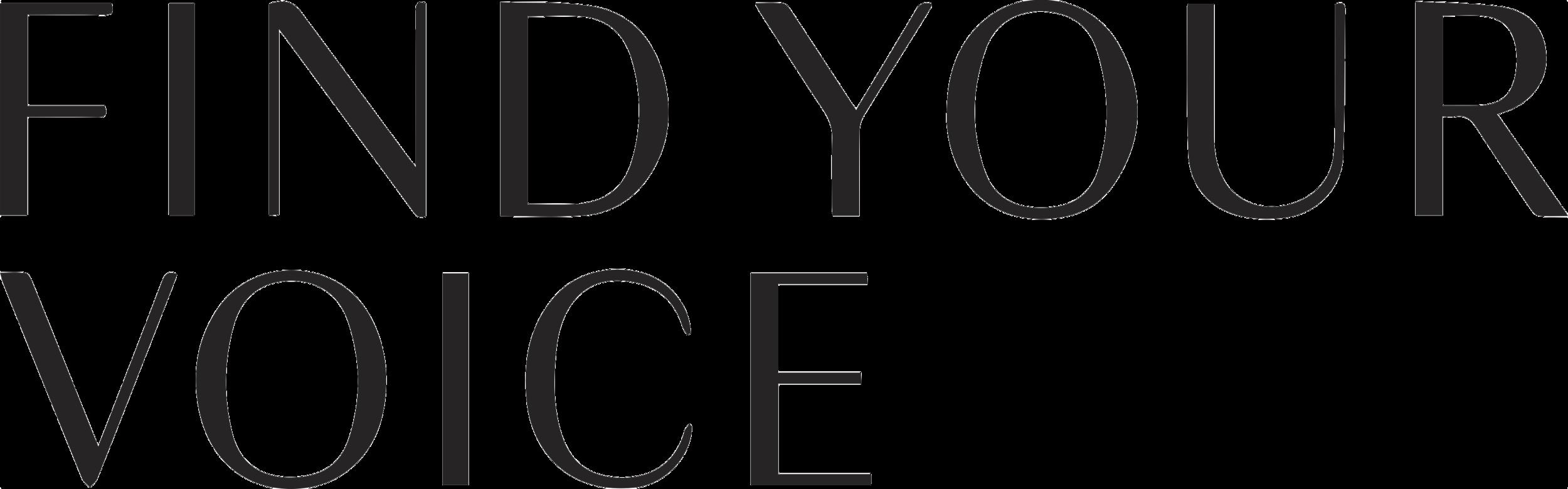 FindYourvoice_01 Primary Logo - black_transparent.PNG