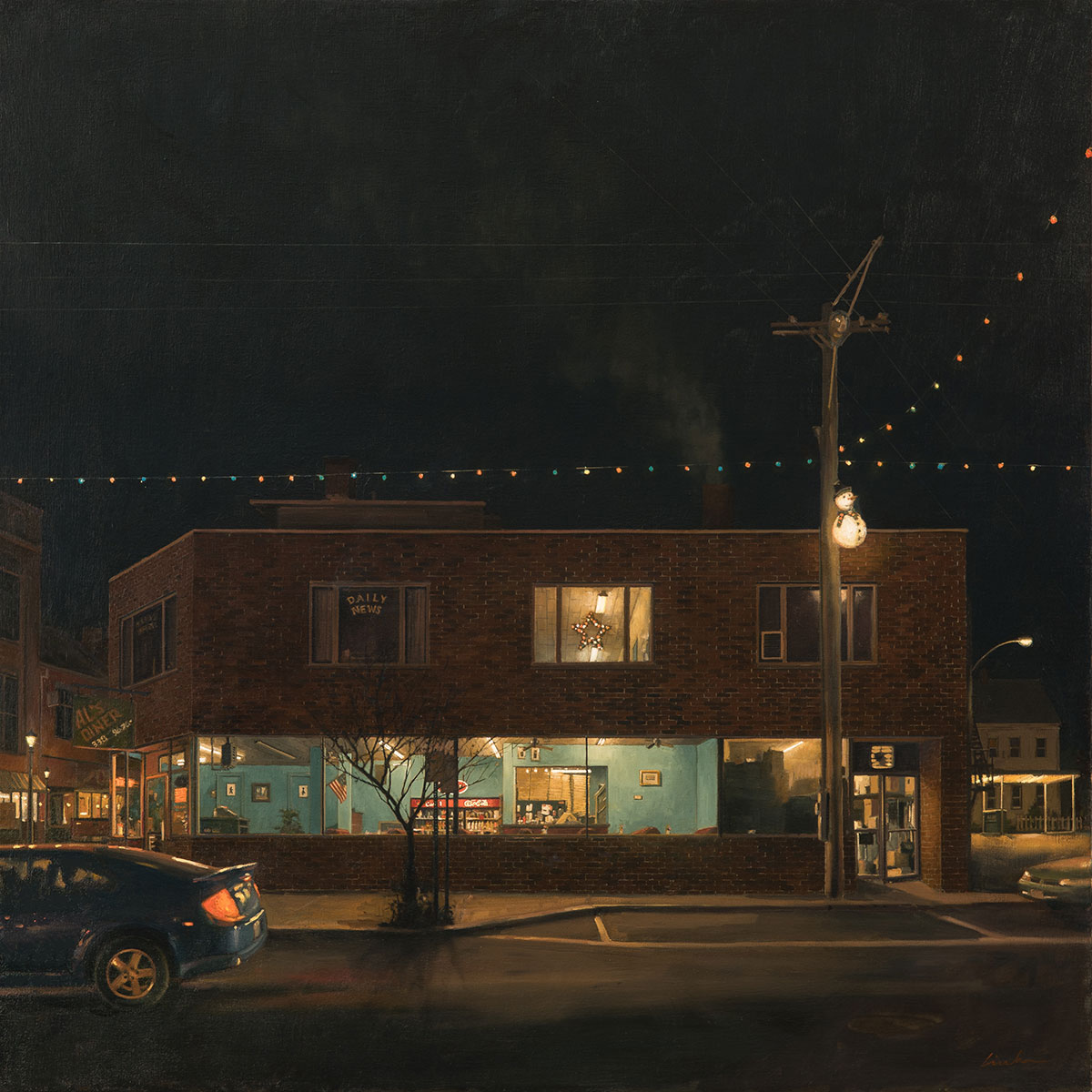 Linden Frederick, Takeout.