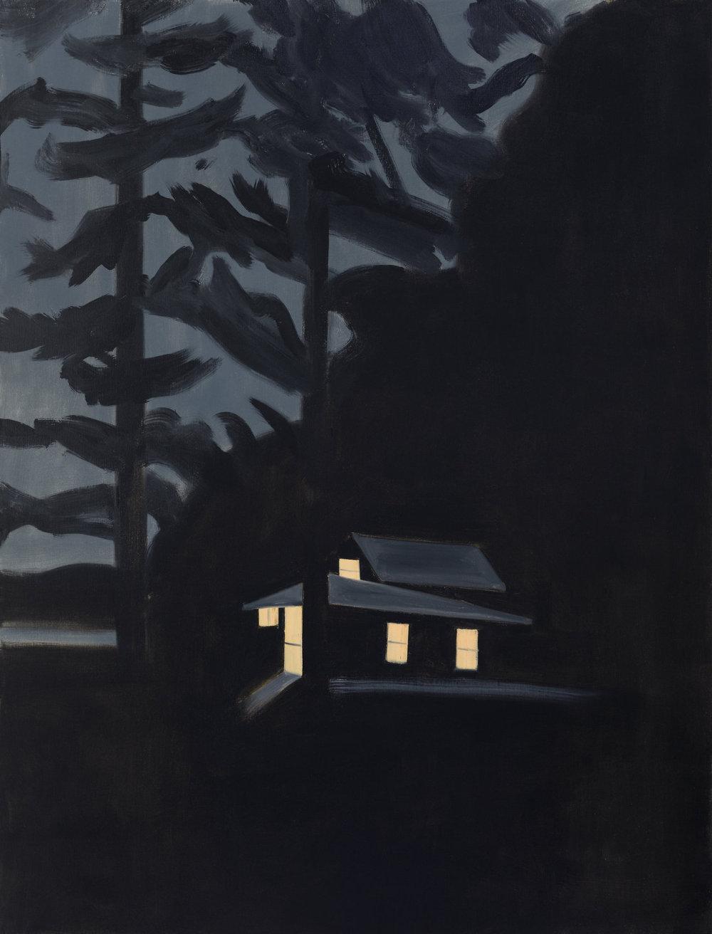 Alex Katz, Night House.