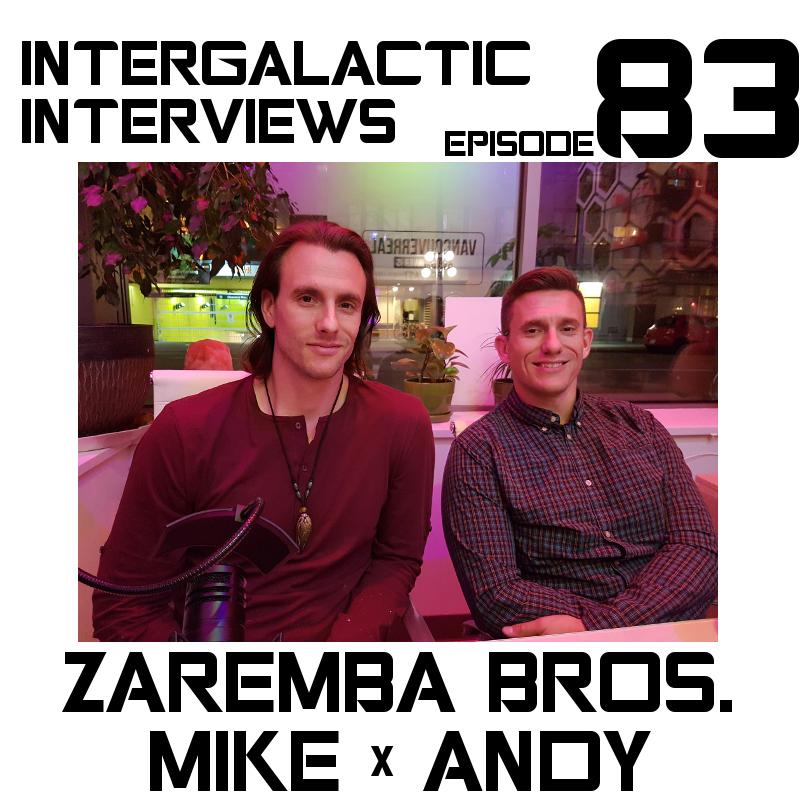 intergalactic interviews zaremba brothers andy mike michael
