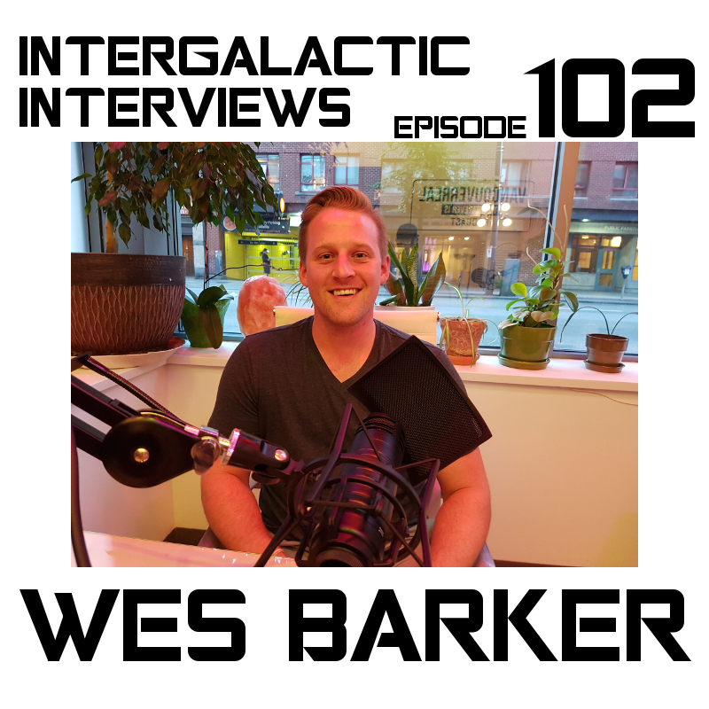 wes barker episode 102 intergalactic interviews MD of the boomsday alliance jayme mcdonald