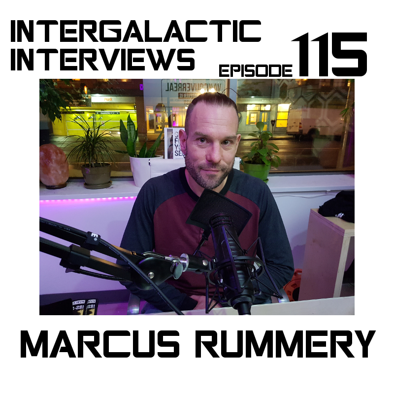 marcus rummery author episode 115 intergalactic interviews jayme mcdonald md of the boomsday alliance