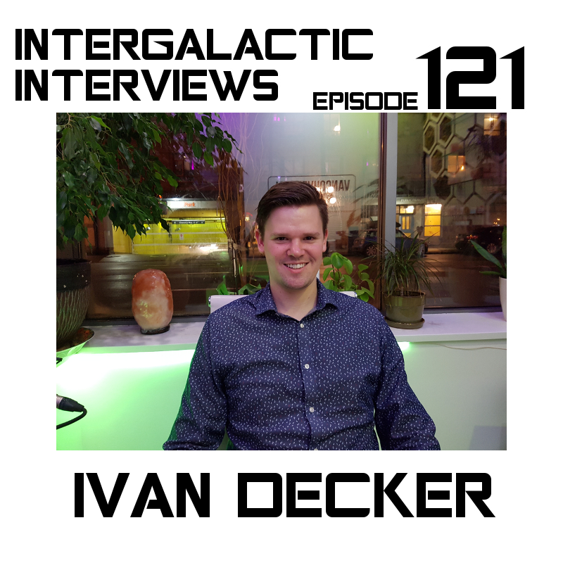 ivan decker comedian podcast intergalactic interviews episode 121 jayme mcdonald md of the boomsday alliance vancouver