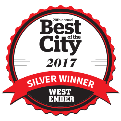 Westender Best of The City 2017 Silver Winner for Best Podcast Intergalactic Interviews