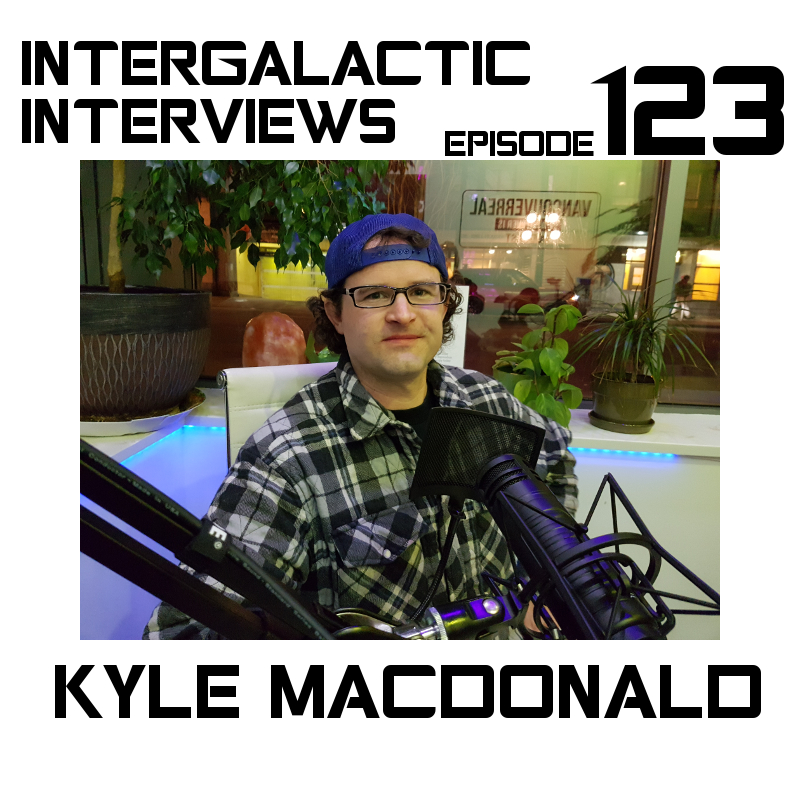 kyle macdonald podcast intergalactic interviews episode 123 jayme mcdonald vancouver one red paperclip 2017